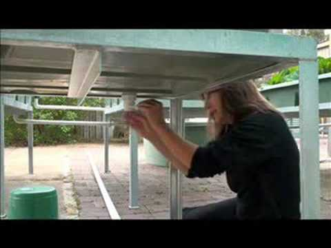 Backyard Aquaponics Intall video Part 1 of 3
