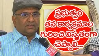 Information Commissioner Madabhushi Sridhar About Government Corruption | Face To Face