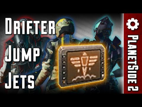 Drifter Jump Jets Review - PlanetSide 2 (Updated!)