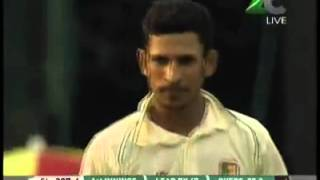 Brilliant Nasir Hossain, first Fast Bowlling against srilanka