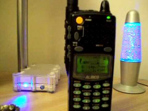 www.RadioScannerAntenna.com // ALINCO DJ-X2000 RADIO SCANNER HAM RADIO
