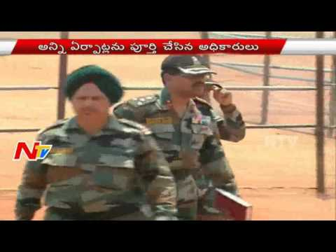 Warangal Army Recruitment Ralley from Tommorow || NTV