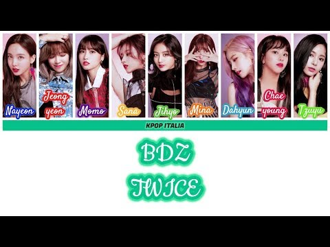 TWICE - BDZ (Korean Ver.) [Color Coded/Sub Ita]