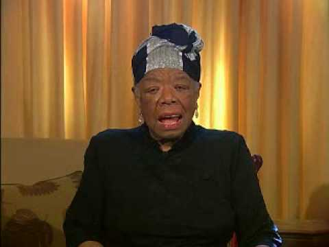 Maya Angelou introduces Letter to My Daughter