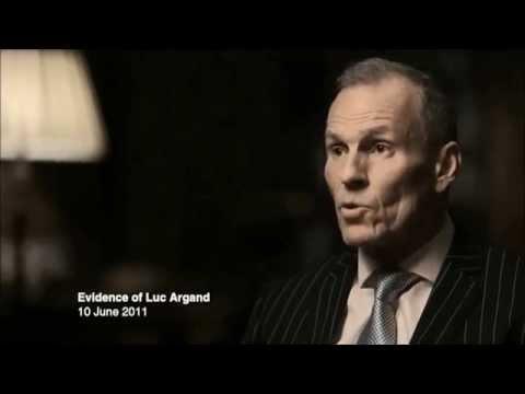 Ian Seale as Luc Argand   BBC Panarama   Bernie Ecclestone   Lies, Bribery & F1   28th April 2014