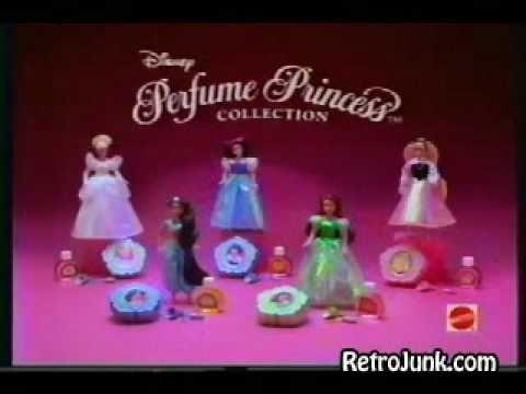 Disney Princess Mattel Perfume