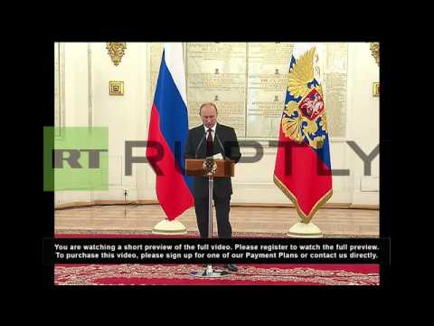 Russia: Putin says Russian soldiers ready to police Israel border with Syria