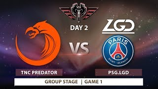 TNC vs LGD | Bo3 | Game 1 | MDL Changsha Major: Group Stage