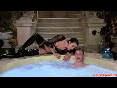 The Lair of the White Worm (1988) - leather scene HD 720p