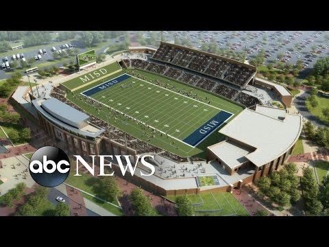 Texas District Splurges $63 Million on a High School Football Stadium