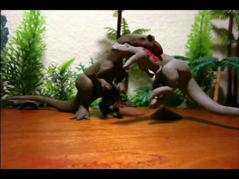 Fredz Jurassic Fight Club Claymation Style 1/2