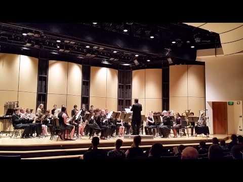 Albuquerque Academy Symphonic Band #1 of 3 - 10/10/2014