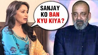 Madhuri Dixit UPSET With Sanjay Dutt BANNED From Kalank Promotions