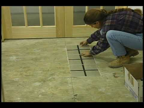 Plancher Tuiles Youtube