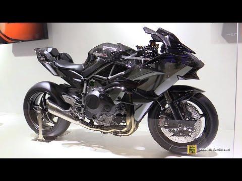 2016 Kawasaki Ninja H2R - Walkaround - 2015 Tokyo Motor Show