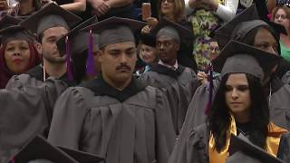 Brookdale CC Commencement 2017 Afternoon