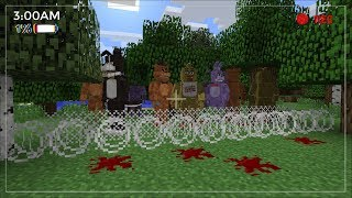 FNAF ANIMATRONICS APOCALYPSE IN MINECRAFT / SURVIVING AT 3AM IN MINECRAFT!! Minecraft