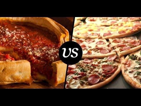 New York (5 points) VS.  Chicago (312) - PIZZA WARS