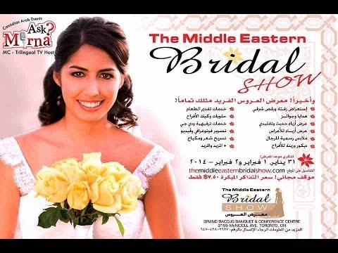 AskMirna The Middle Eastern Bridal Show- Toronto 2014