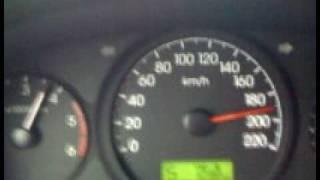 Hyundai Grand Starex CRDI VGT 2.5 Top Speed @ 209 kph