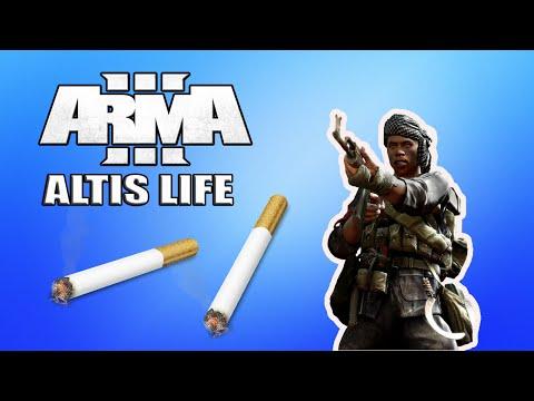Cargaison de cigarettes! j'ai eu chaud.. | Arma 3 ~ Altis life[FR]