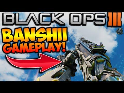 """BANSHII SHOTGUN GAMEPLAY! NEW """"BANSHII"""" LASER WEAPON SHOTGUN IN BLACK OPS 3! (BO3 """"Banshii"""" Shotgun)"""