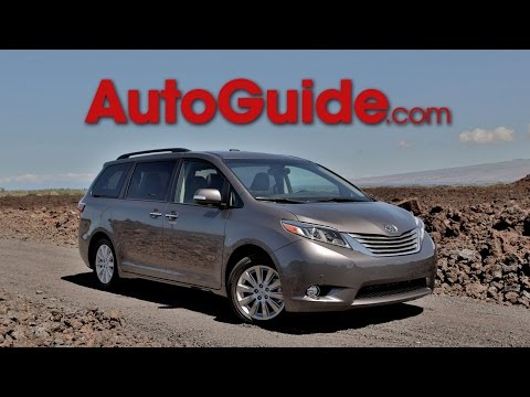 2015 Toyota Sienna Review - First Drive