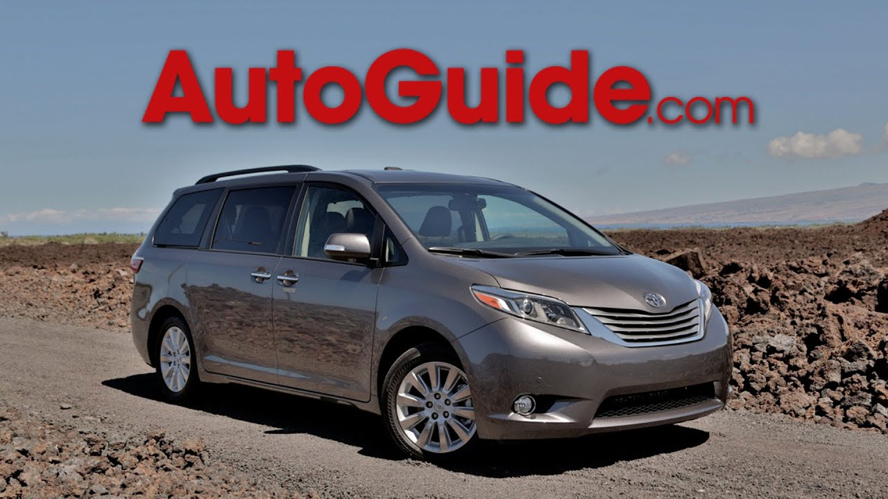 2015 Toyota Sienna Review - First Drive - YouTube