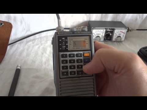 Trio Kenwood TR-2500 2 meter VHF hand held transceiver