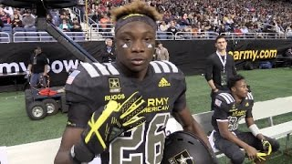 Army All-American Top Plays - Clemson commit Hunter Johnson (IN) to Henry Ruggs III (AL)