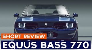Equus Bass 770 Short Review presentation: basic info about Equus Bass 770