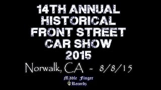 Historical Front Street Car Show 2015
