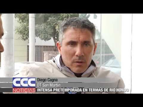 10   Diego Cagna INTENSA PRETEMPORADA EN TERMAS DE RIO HONDO