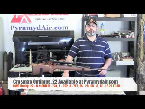 Crosman Optimus .22 Airgun Review / Pellet gun Review