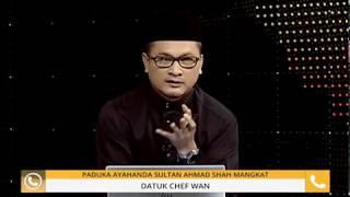 """""""Almarhum Sultan nak mee rebus"""" - Chef Wan"""