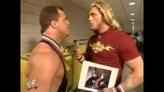 Edge Makes Fun Of Kurt angle.