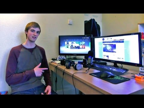Ali-A's Gaming Setup & Room Tour (Epic Setup)