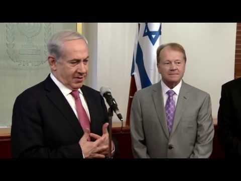 PM Netanyahu Meets with Cisco CEO John Chambers