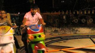 Motu and Patlu in a bike ride