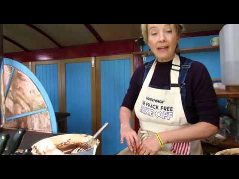 Emma Thompson: I'm baking a frack free cake