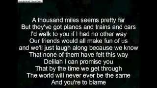 Download Lagu hey there delilah lyrics Gratis STAFABAND