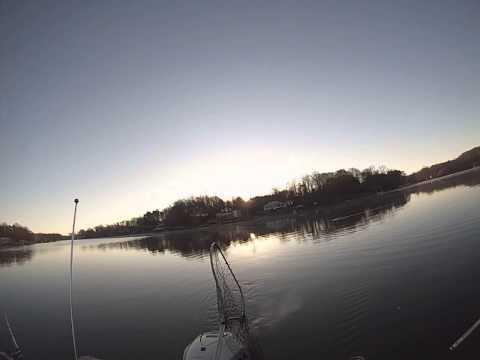 Lake Norman, Striper Fishing, Part A. December 14, 2014