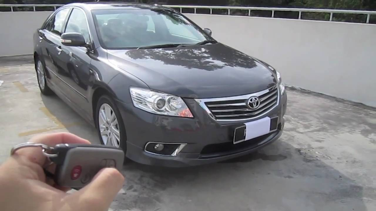 2010 toyota camry 2 4v start up and full vehicle tour youtube. Black Bedroom Furniture Sets. Home Design Ideas