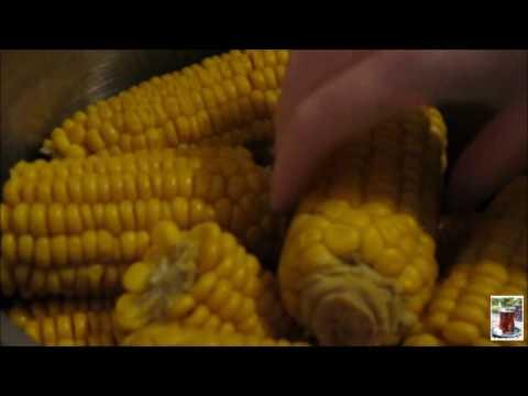 Как сохранить кукурузу на зиму ( в морозилке )