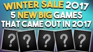 STEAM WINTER SALE 2017 - 5 NEW BIG 2017 Games