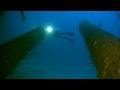 Battleship USS Arkansas (BB-33) at Bikini - 2014 footage