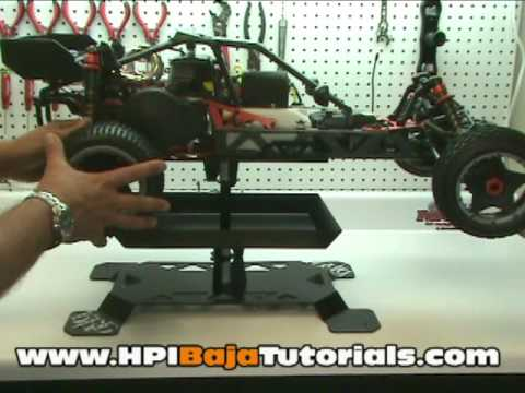 HPI Baja Stand Review  (Knight Research & Development.)