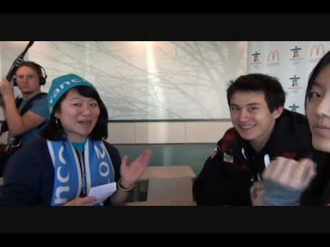 Interview With Patrick Chan at McDonalds!/Entrevue avec Patrick Chan a McDonalds! Video