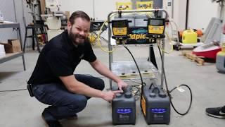 Vacuum Pump Oil Change Experiment by Fieldpiece