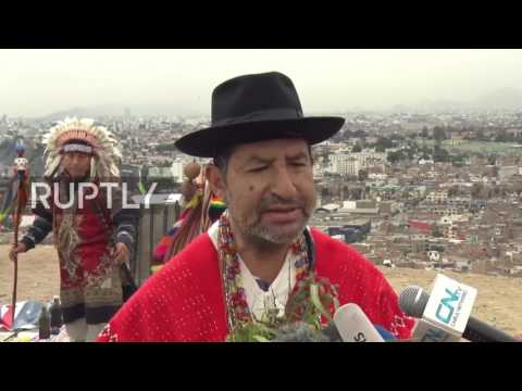 Peru: Shamans summon the spirits to ward off conflict between US and North Korea